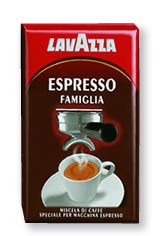 Lavazza Espresso Famiglia, ground roasted coffee, 20 x 250 g