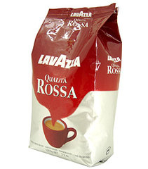 Lavazza Qualita' Rossa, whole coffee beans, 12 x 1000g