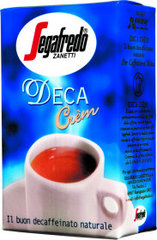 Segafredo decaff. ground roasted coffee, 20 x 250 g