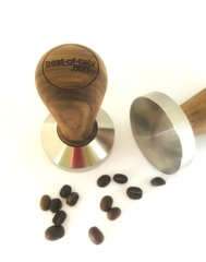 Stainless Steel/Wood Coffee Tamper