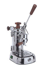 La Pavoni Professional Chrome Wood PLH