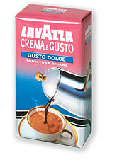 Lavazza Crema e Gusto Dolce, ground roasted coffee, 20 x 250 g